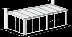 verandos modelis