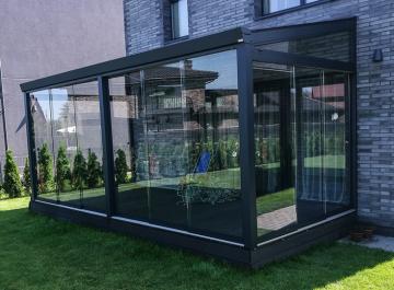 bereme stiklinimo sistema terasoms verandos Gardenis