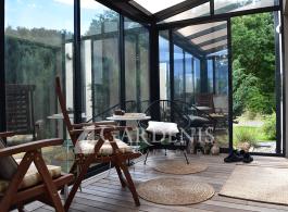 stikline oranzerija veranda terasai gardenis