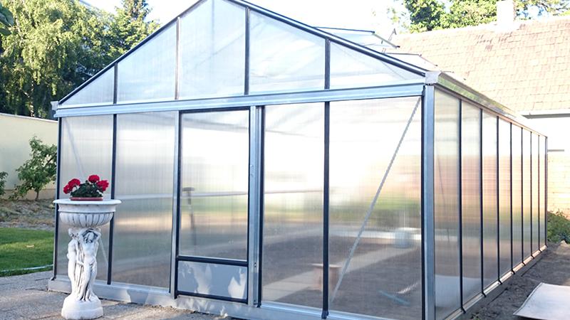 Erdvus aliuminio siltnamis Magna - Gardenis