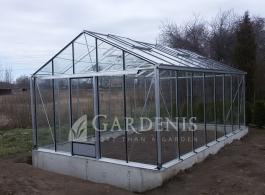 Erdvus aliuminio siltnamis Magna – Gardenis