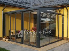 stikline  veranda terasai gardenis