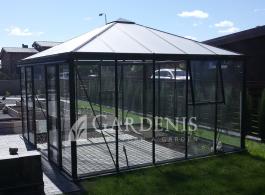 Stikline oranzerija Tetras – Gardenis