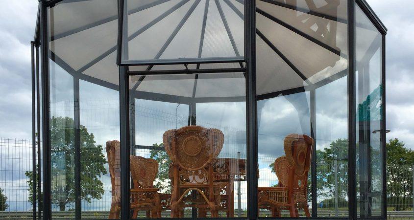 Stikline oranzerija Ringo - Gardenis