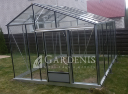 Glass greenhouse Juna – Gardenis