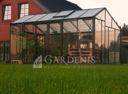 Stiklinis siltnamis Juna Gardenis