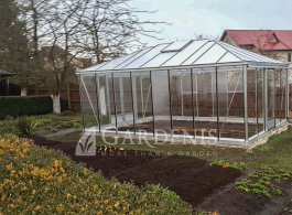 Stikline oranzerija siltnamis Tetra extra gardenis