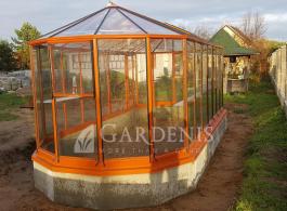Stikline oranzine oranzerija Ovalia Gardenis