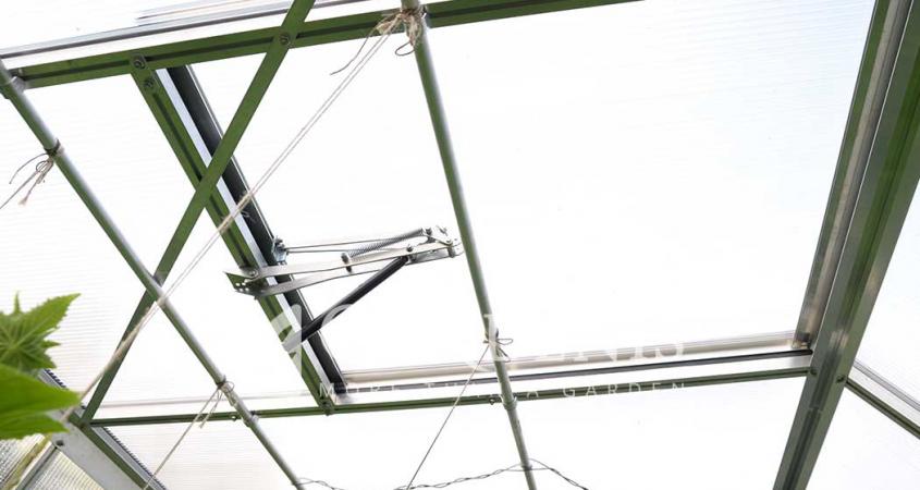 aliuminio vamzdeliai tvirtinti augalams šiltnamyje