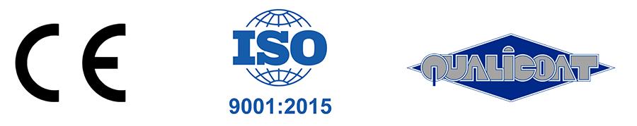Gardenis ISO CE kokybe