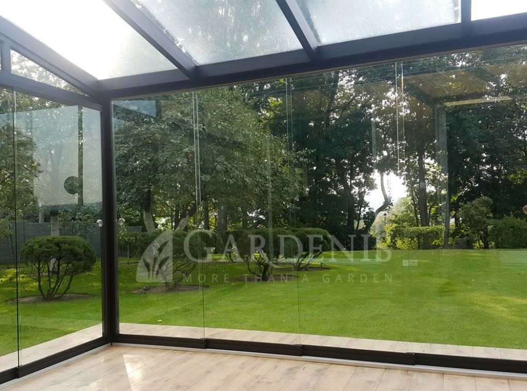 Bereme sistema terasai verandai Gardenis