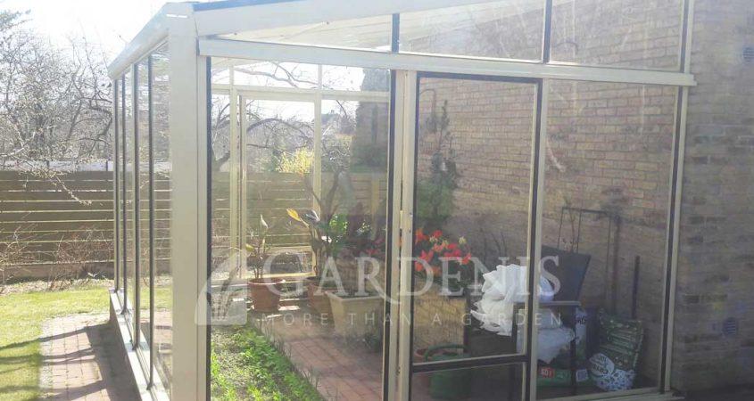 MURUS-priesienis-siltnamis-lean-to-greenhouse-Gardenis