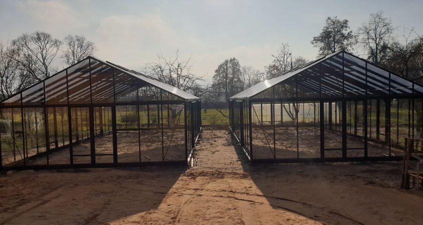 Magna dideli siltnamiai Gardenis
