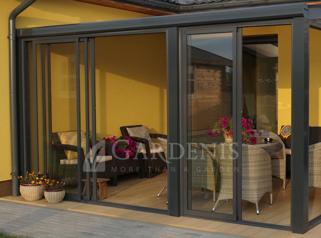 Verandos durys slankiojamos Gardenis