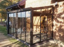 Ruda-stiklo-veranda-Gardenis-Kaunas