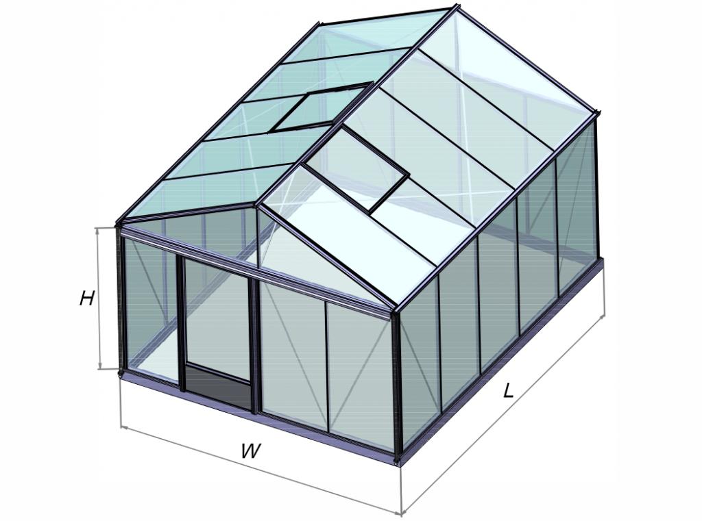 Ventus siltnamio konstrukcjos modelis Gardenis