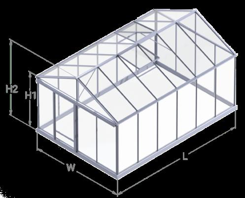Ventus 309 greenhouse model