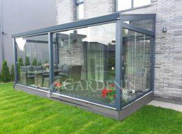 Veranda-terasu-stiklinimas-bereme-sistema-Gardenis