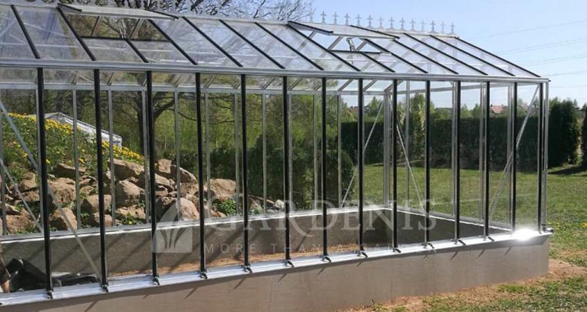 Victoria-siltnamis-aluminium-glass-greenhouse-Gardenis-Kaunas