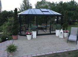 Ovalia EE greenhouse orangerie Gardenis a