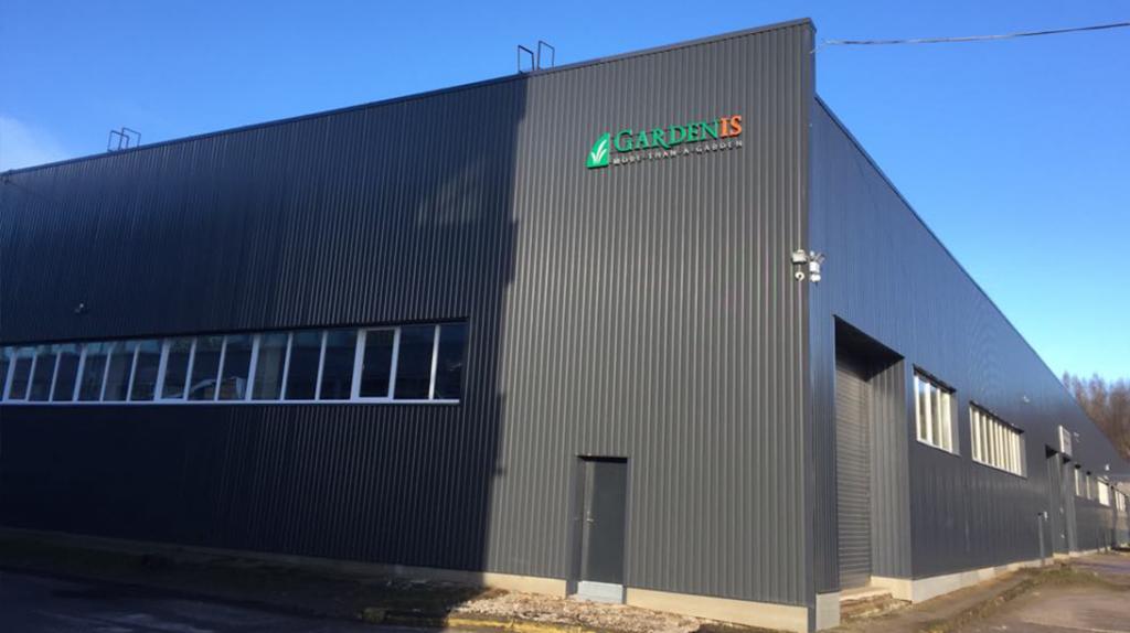 UAB Gardenis gamybos pastatas