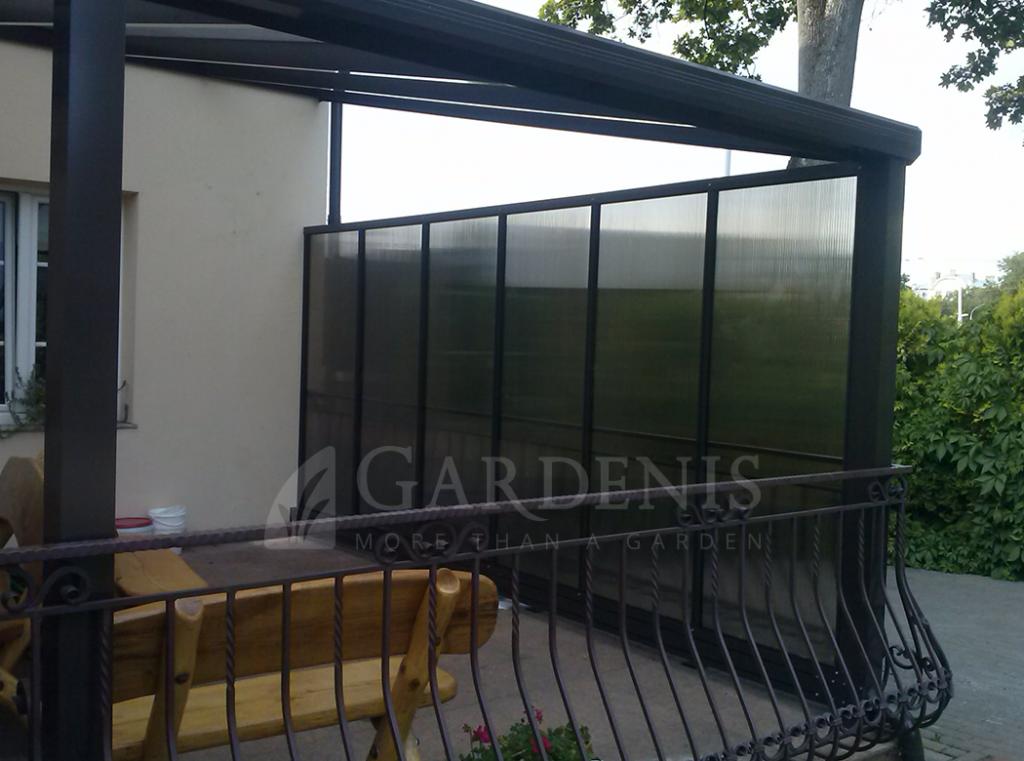 Gardenis-sienelė-terasai-stoginei