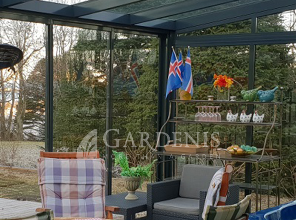 Veranda terasai Gardenis Islandija