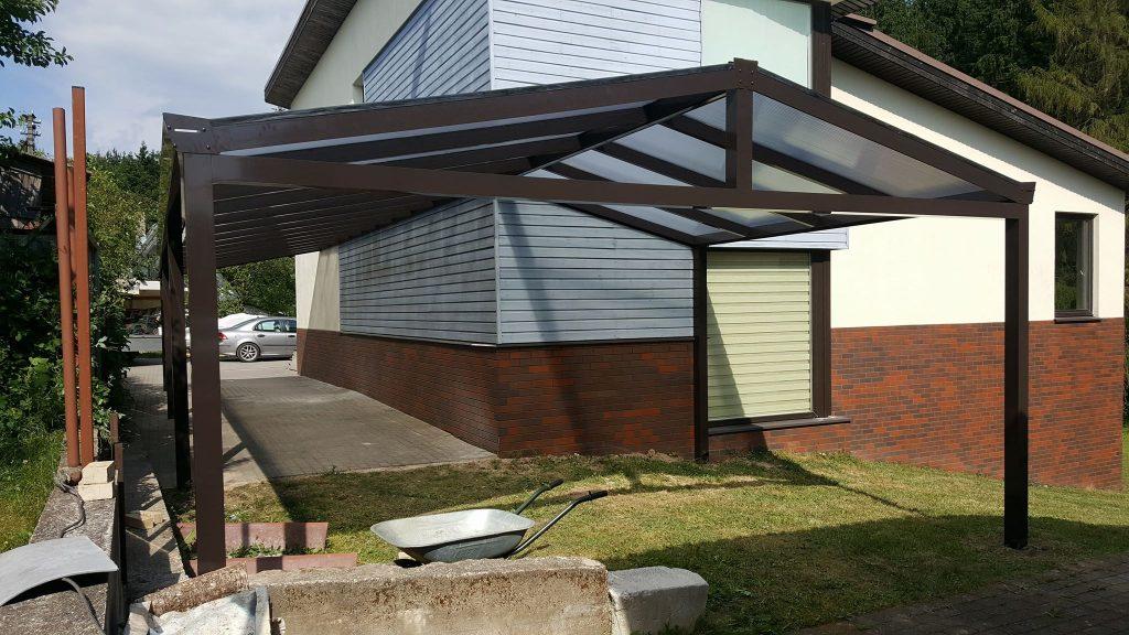 kampine stogine terasai automobiliui Gardenis b