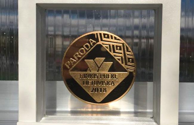 Parodos Rinkis preke lietuviska medalis Gardenis