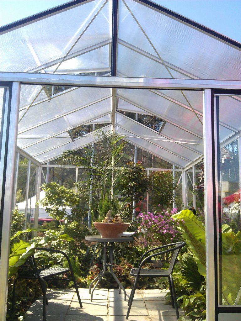 Geras aliuminis siltnamis Gardenis