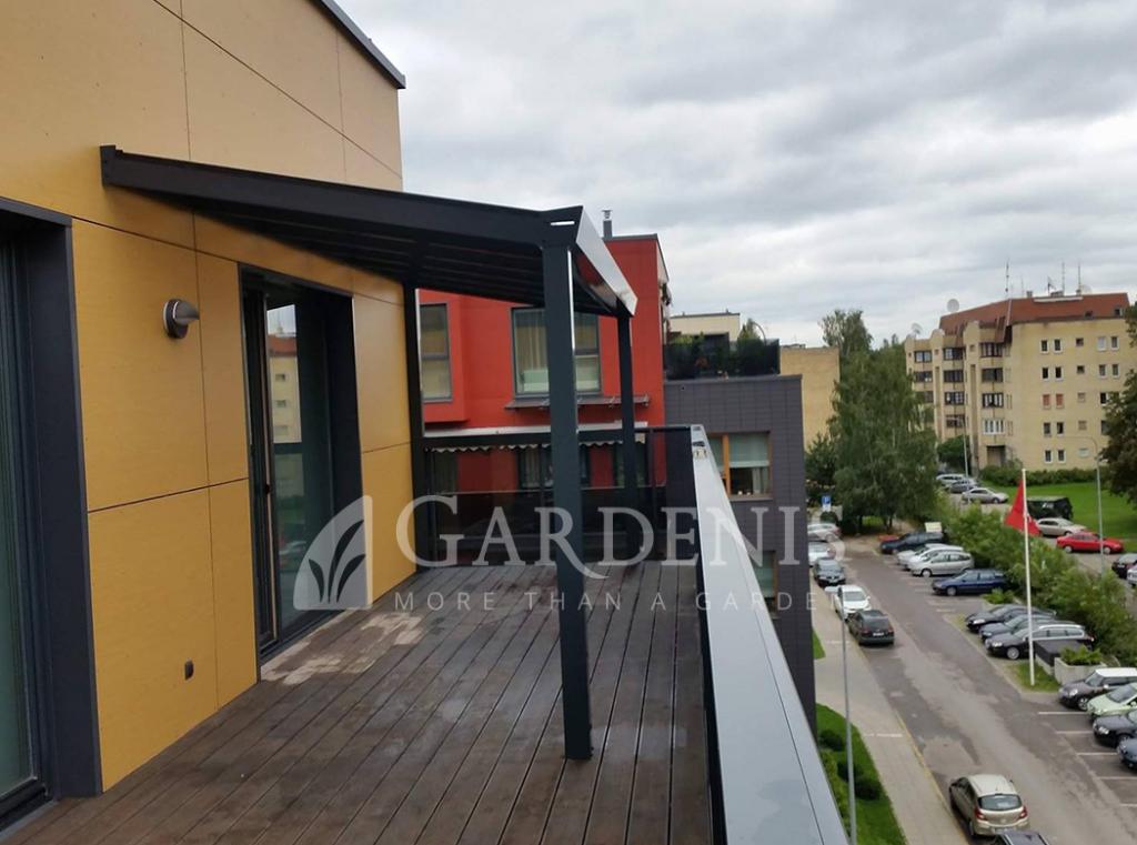 Balkono terasos stoginė Gardenis