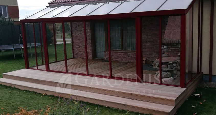 Veranda-stikline-aliuminio-konstrukcija-Gardenis