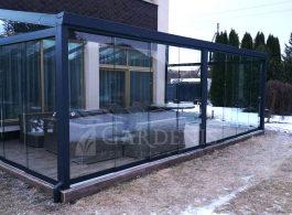 Veranda-stikline-bereme-stiklinimo-sistema-aliuminio-konstrukcija-Gardenis