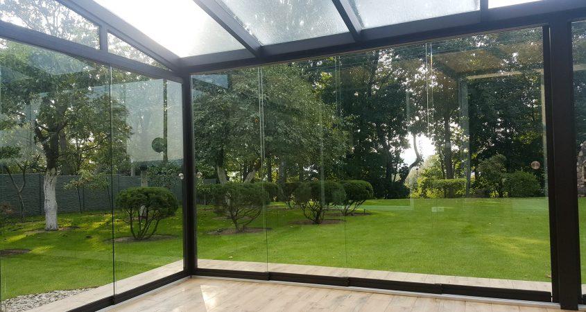 bereme stiklinimo sistema verandai Gardenis