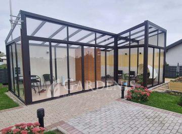 Veranda privati mini SPA zona kieme Gardenis