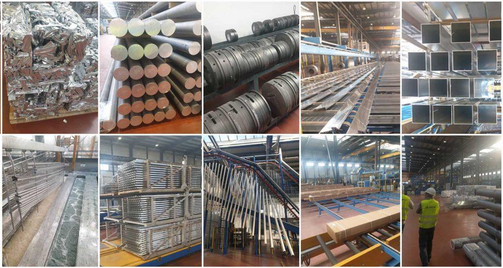Gardenis aliuminio konstrukciju profiliu gamyba
