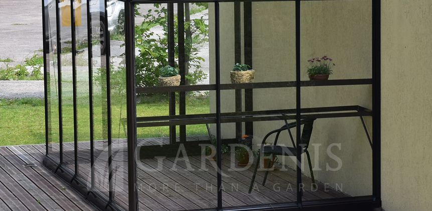 priesienis siltnamis veranda MURUS pigiau